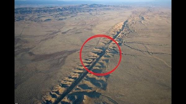 Se han registrado 5 sismos sobre la falla de san andres en las ultimas horas.