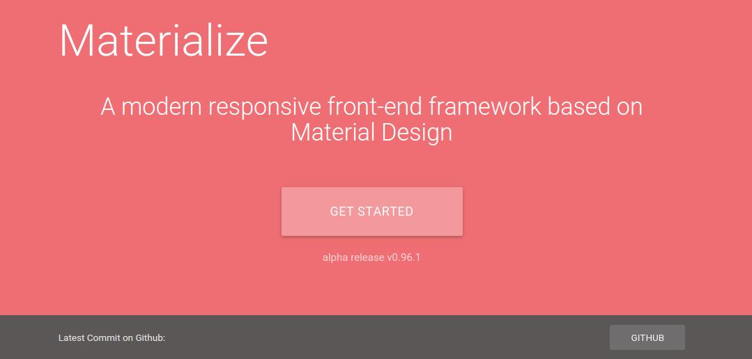 Giới thiệu về Google Materialize CSS framework