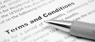 terms and conditions small business job