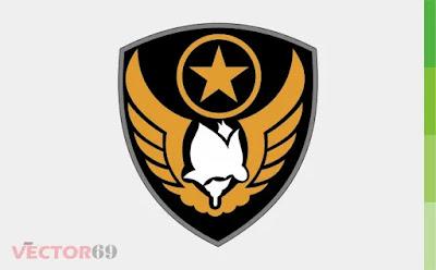 KODIKLATAU (Komando Pembinaan Doktrin, pendidikan, dan Latihan Angkatan Udara) Logo - Download Vector File CDR (CorelDraw)