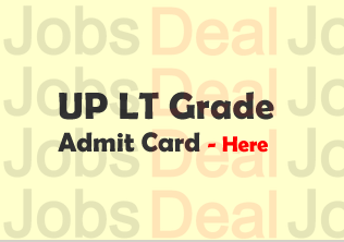 UP LT Grade Teacher Admit Card 2018
