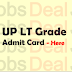 UP LT Grade Teacher Admit Card 2018 10768 Selection Process @upseat.in