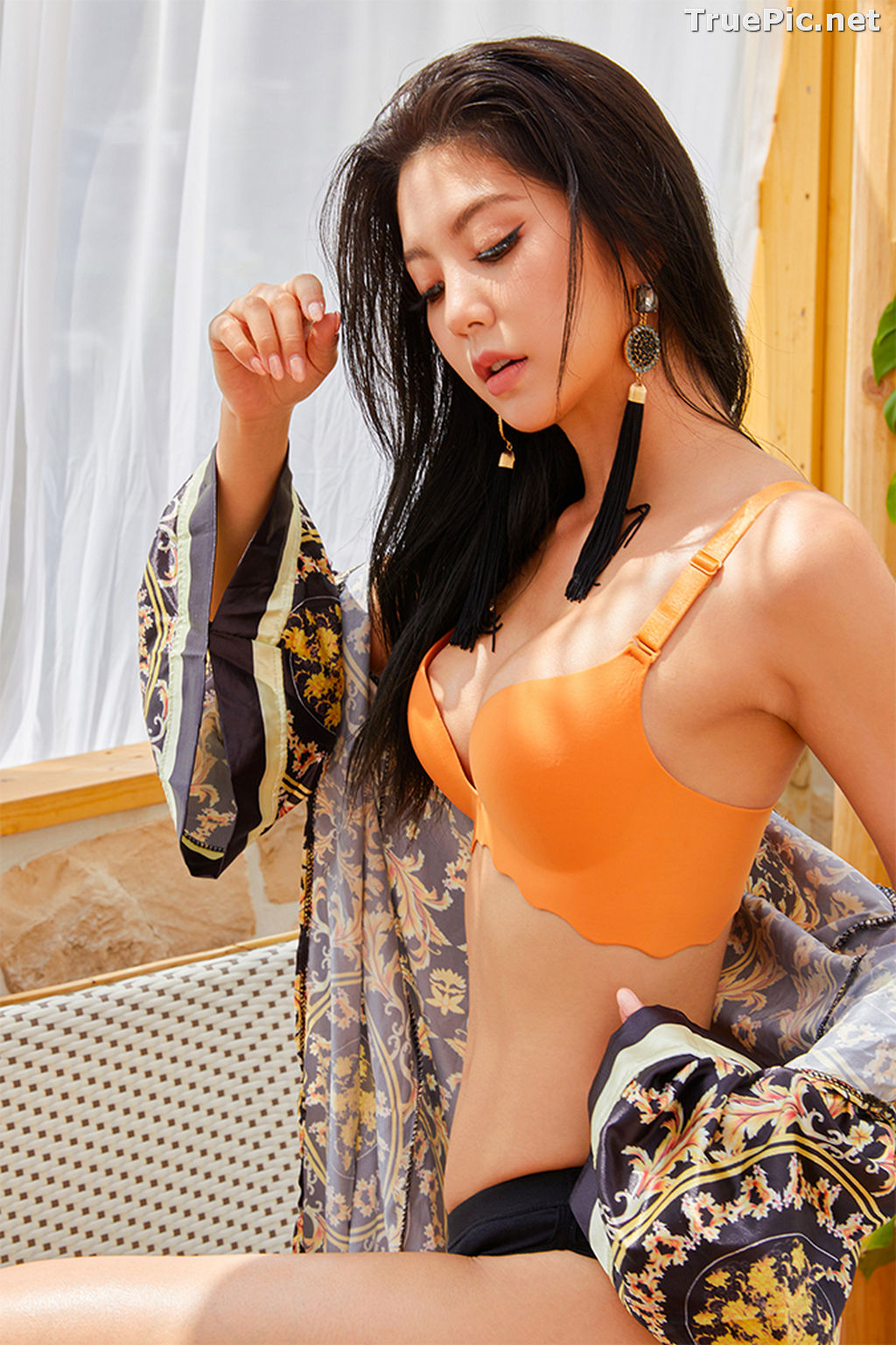 Image Korean Fashion Model – Lee Chae Eun (이채은) – Come On Vincent Lingerie #6 - TruePic.net - Picture-3