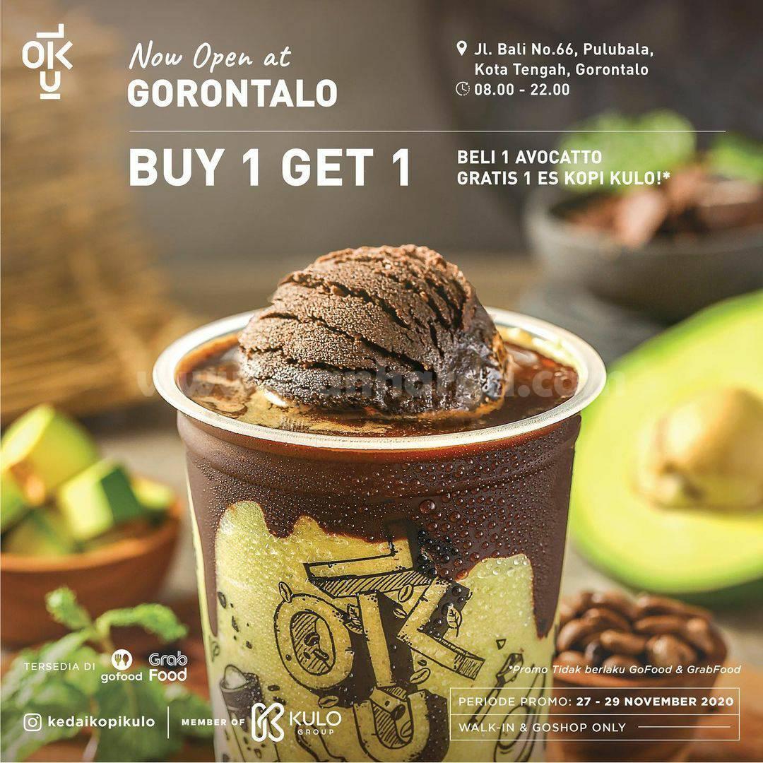 Kedai Kopi Kulo GORONTALO Opening Promo Buy 1 Get 1 Free
