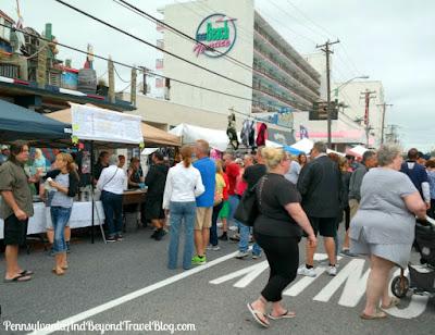 11th Annual Wildwoods Seafood and Music Festival in New Jersey