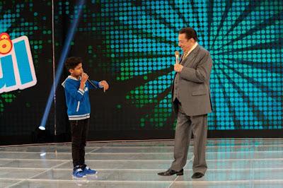 MC Bruninho e Raul Gil (Crédito: Rodrigo Belentani /SBT)
