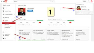Cara Daftar Google AdSense (GA) Dari Youtube Terbaru