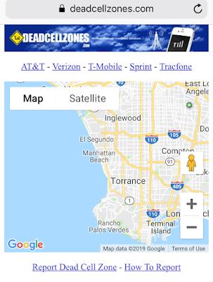 Report Tracfone Dead Zones Mobile App