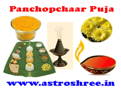 how to do panchopchar puja