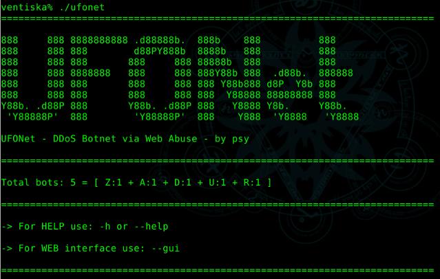 Como fazer um ataque DDoS - Botnet Ufonet