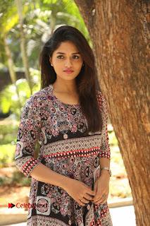 Actress Sunaina Latest Stills in Floral Dress at Pelliki Mundu Prema Katha Trailer Launch  0004.JPG
