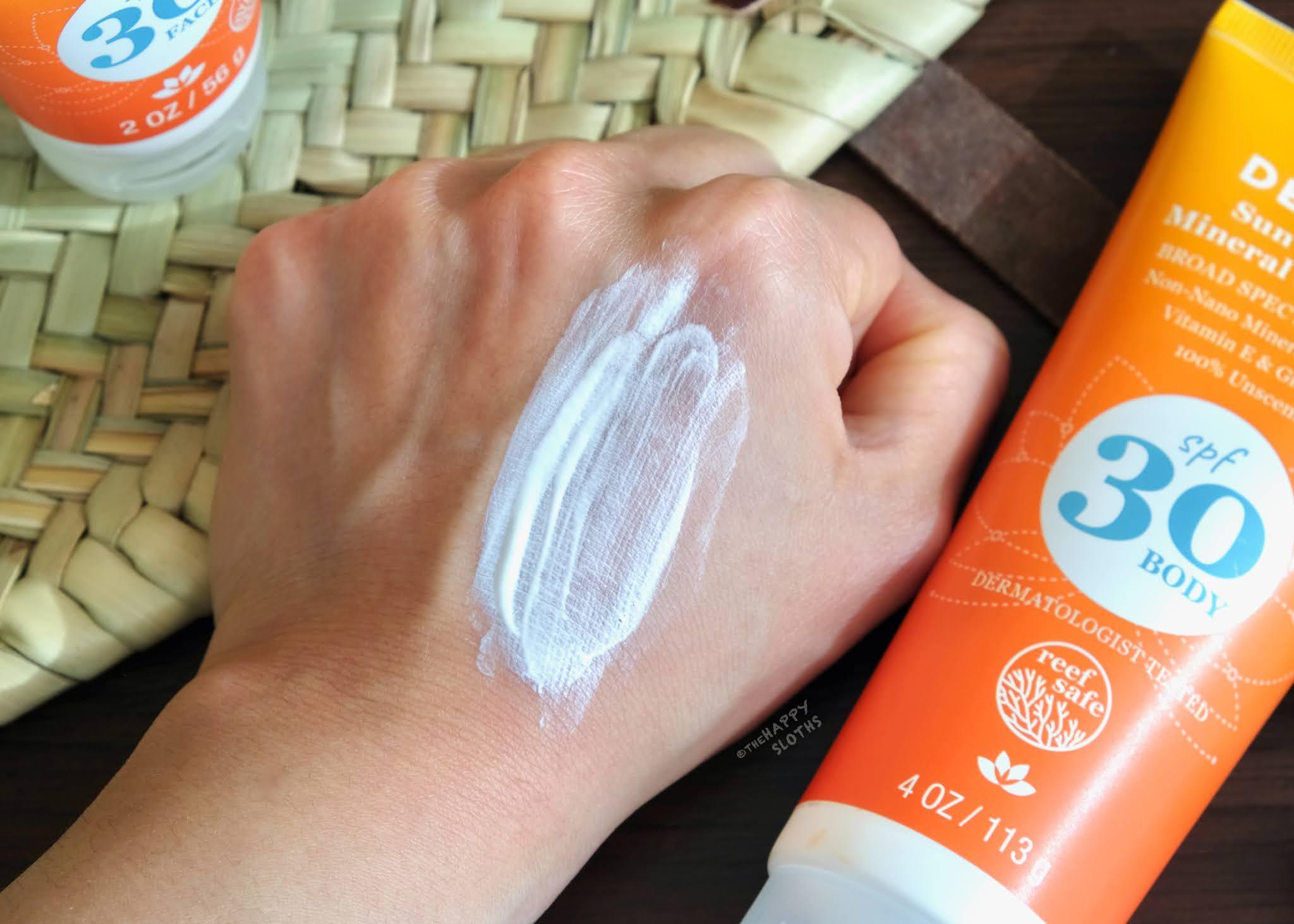 Derma E | Sun Defense Mineral Oil-Free Sunscreen Body: Review