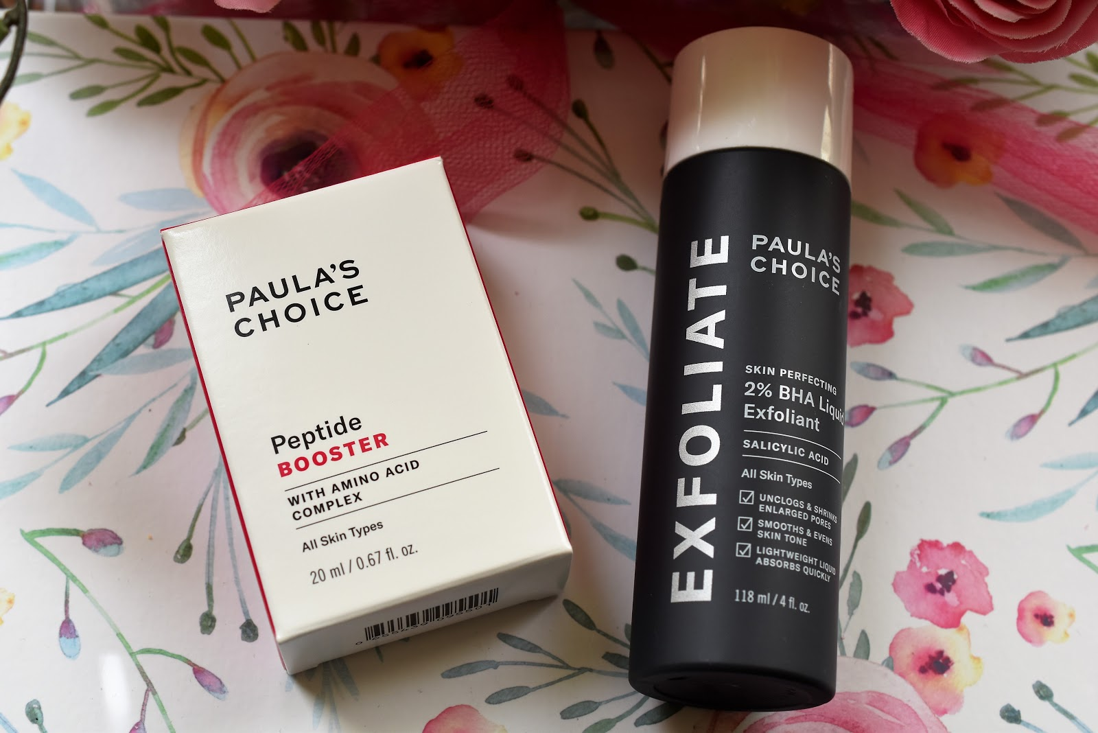 Paula's Choice Exfoliate and Peptide Boost