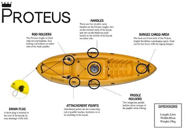 Proteus Kayak layout