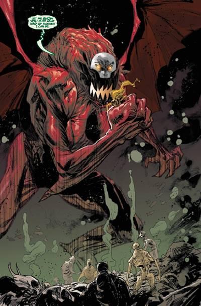 Uno de los simbiontes dragón de Marvel