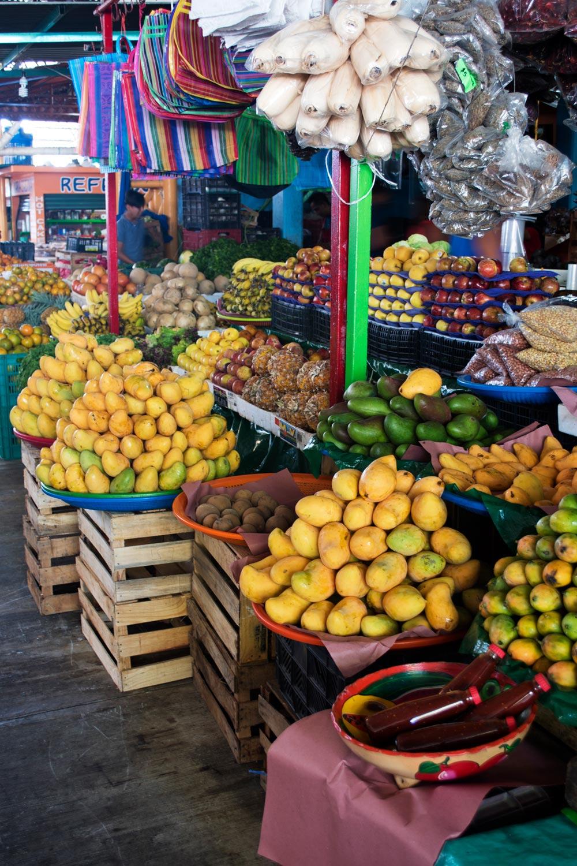 Puerto Escondido farmers market