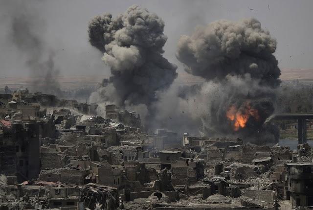 Akibat Kebrutalan ISIS, Sekitar 2.000 Mayat Ditemukan dalam Reruntuhan Kota Mosul