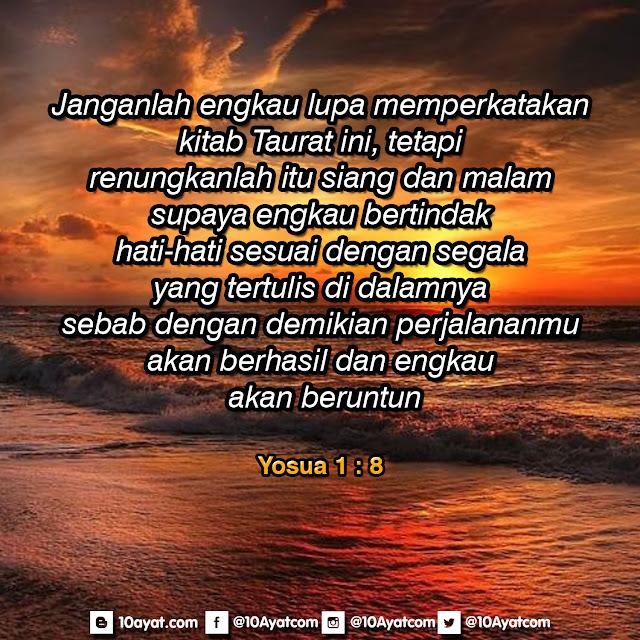 Yosua 1:8