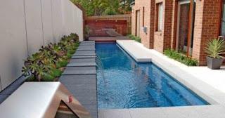 Kolam Renang Rumah Minimalis Sederhana Nampak Indah