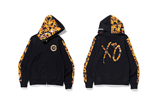 4df36097 The BAPE X XO collection will hit select BAPE retailers such as  BAPEXCLUSIVE™ Aoyama, Kyoto, BAPE STORE® DSM Ginza as well as Bape.com and  The Weeknd's ...