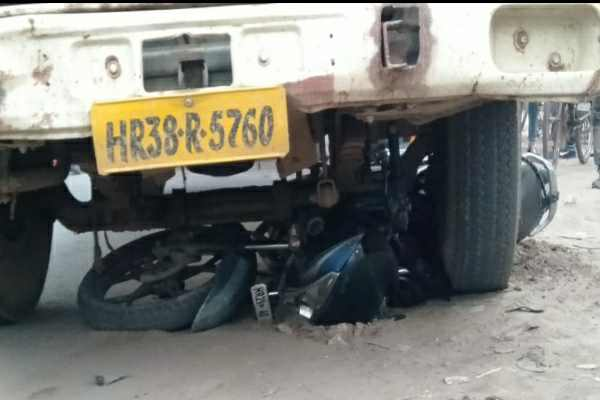 faridabad-bike-truck-accident-bata-highway-faridabad-news
