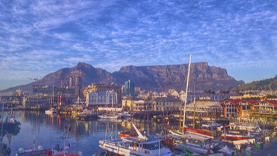 According to the UK's National Physical Laboratory, the fifth in line for having the best blue sky on earth is Cape Town, South Africa.