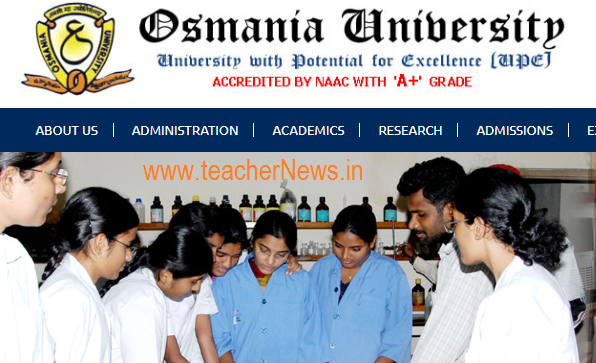 OU Degree Results 2018 –Check Osmania University 1st, 2nd, 3rd Year Results of BA, B.Com, B.Sc
