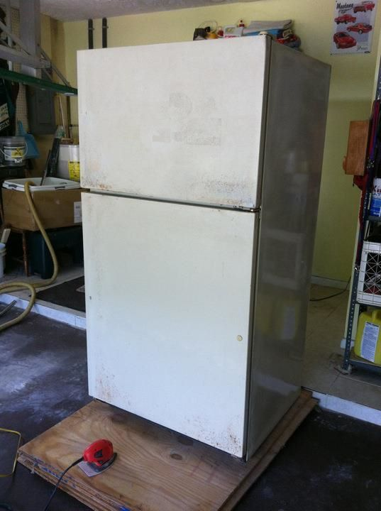 Garage Fridge: Firkin Around...: Beer Fridge Makeover