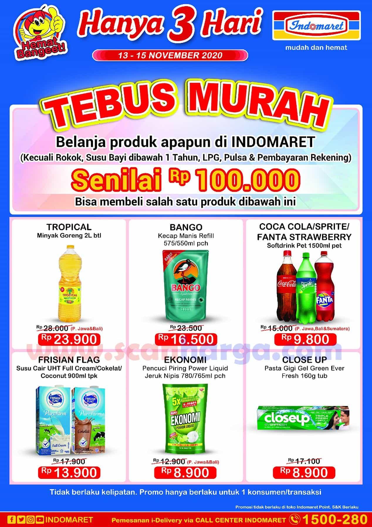 Promo Indomaret Jsm Tebus Murah 13 15 November 2020 Scanharga