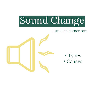 Sound change,  language change , causes , types of language ,sound change notes with example