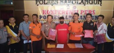 Polres Sarolangun Tetapkan Dua Orang Pelaku Kasus PLTMH Sebagai Tersangka
