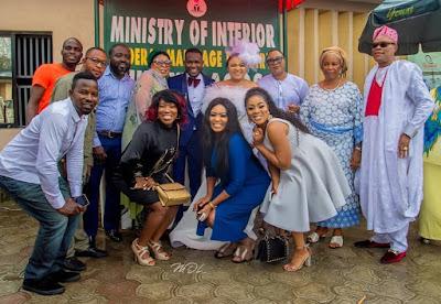 Okiki Afolayan and Abimbola Ogunnowo wedding photos