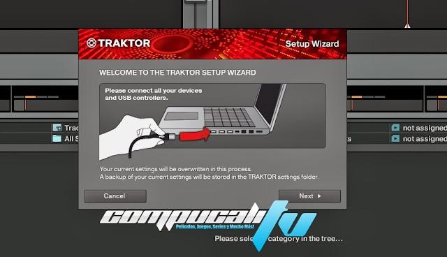 Traktor Dj Pro 2.6 Full Mezclador de Musica