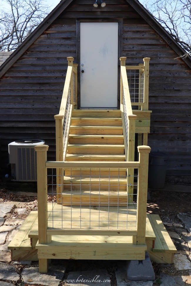 3 design factors for exterior wood stairs included using pressure treated lumber for new stairs