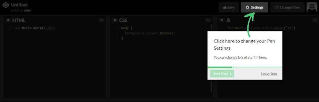 Cara Lengkap Daftar Codepen.io Gratis dan Mudah