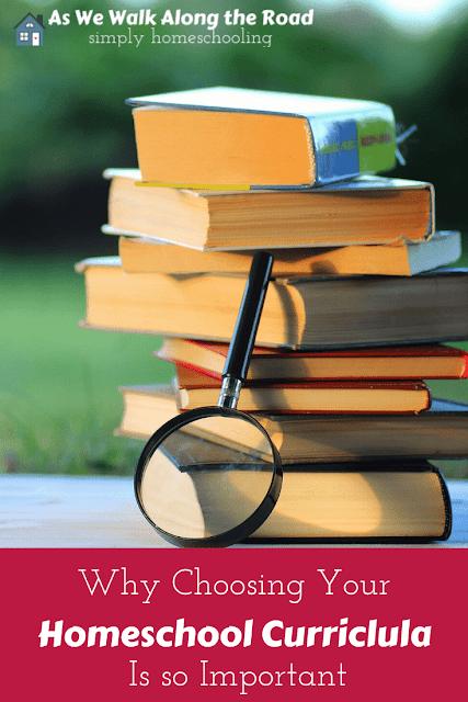 Choosing homeschool curricula