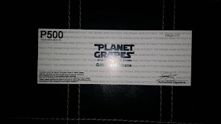 PhP 500 Planet Grapes Certificate