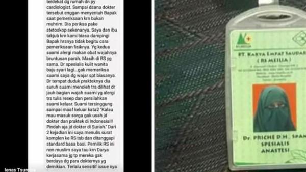 Ujung Nasib Lyana,  Penyebar Info Dokter Bercadar Tak Mau Disentuh