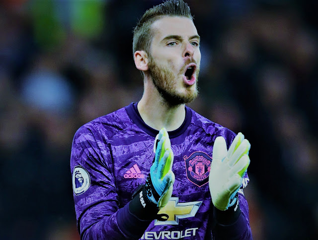 EPL: David De Gea is not happy with Man United's form