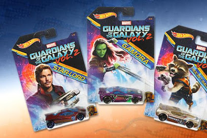 Hot Wheels Guardian Of Galaxy Vol. 2 Series 2017