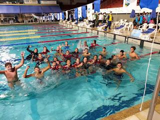 flamengo brasileiro infantil natação