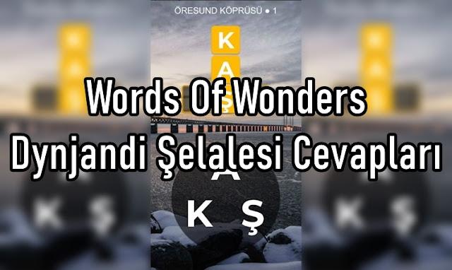 Words Of Wonders Dynjandi Şelalesi Cevaplar