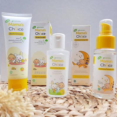 Mama's Choice Calming Tummy Oil