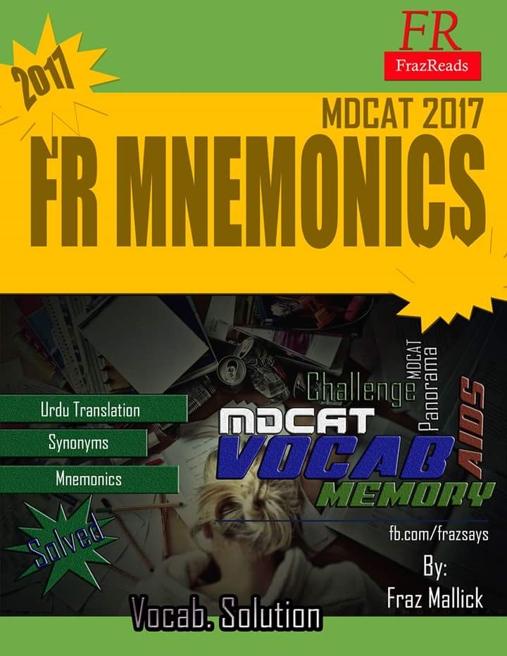 MDCAT Vocabulary Mnemonics Solved | MDCAT Guide