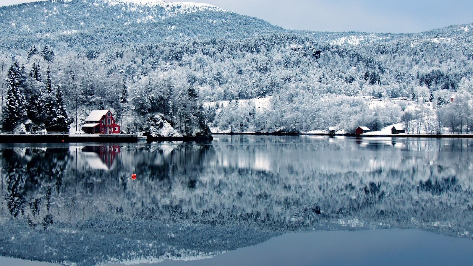 Fondo Escritorio Paisaje Bonita Nevada: Paisajes Nevados Para Fondo De Pantalla