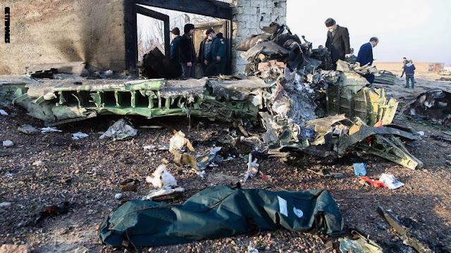 إيران: سقوط طائرة ركاب أوكرانية ومصرع 176 شخصا كانوا على متنها بعد إقلاعها من مطار الخميني