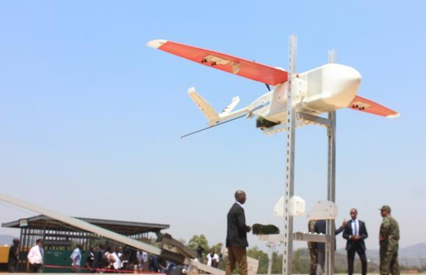 Rwanda Turns To Drones To Deliver Vital Blood Supplies