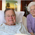 Former President George Bush may be out of the hospital this week (Photo)