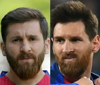 Messi Lookalike and Lionel Messi