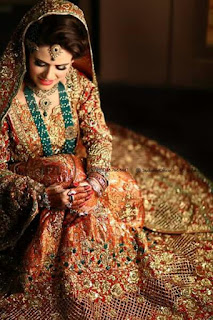 Pakistani Bride Pose